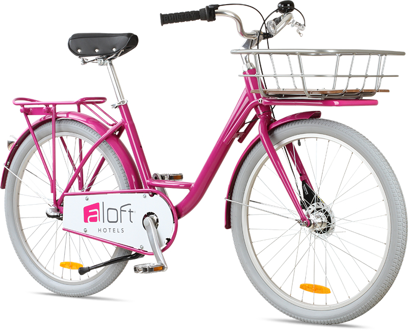 Hotel bicycles for the Aloft hotels.
