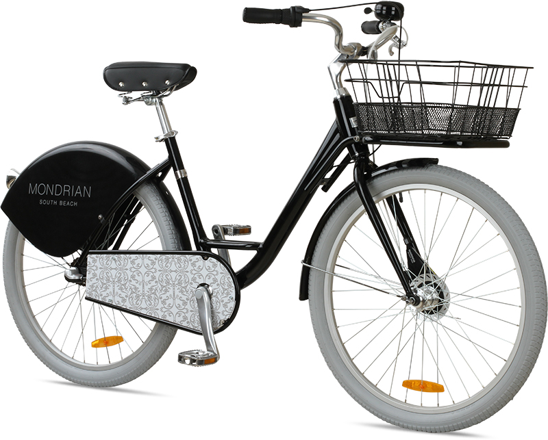 Custom bike for the Mondrian Hotel.